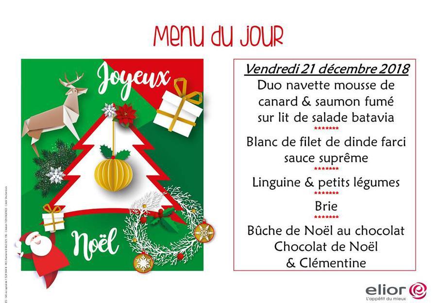Decoration De Menu De Noel.Menu De Noel 2018 2019 News School Life Ecole Du
